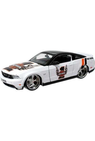 Maisto Ford Mustang Gt 1:24 Model Araba Beyaz