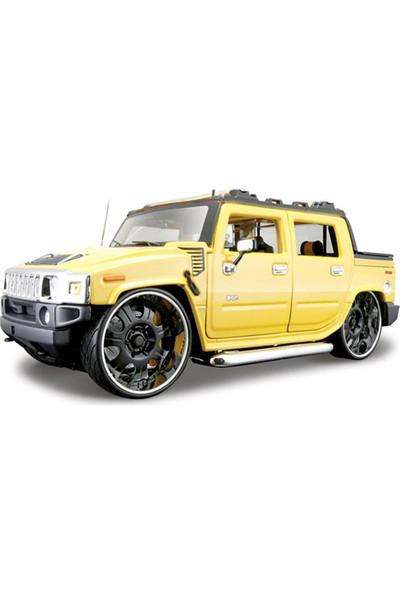 Maisto Hummer H2 Sut Concept 1:18 Model Araba Sarı