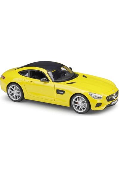 Maisto Mercedes-Amg Gt 1:18 Model Araba Sarı