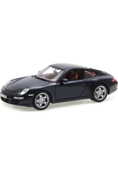 Maisto Porsche 911 Carrera S 1:18 Model Araba Siyah