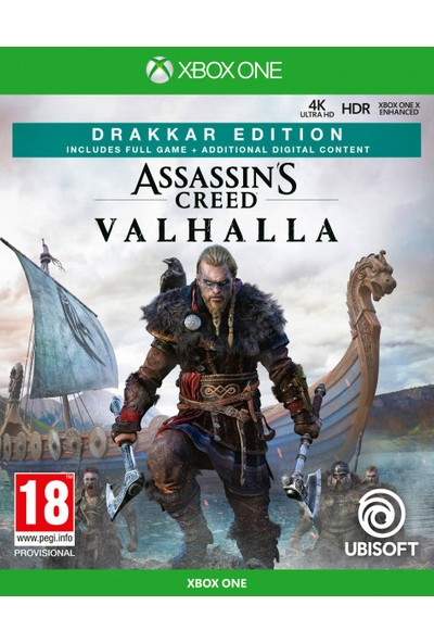 Assassins Creed Valhalla Drakker Edition Xbox Series Oyun