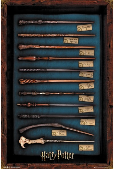 Harry Potter Wands Maxi Poster