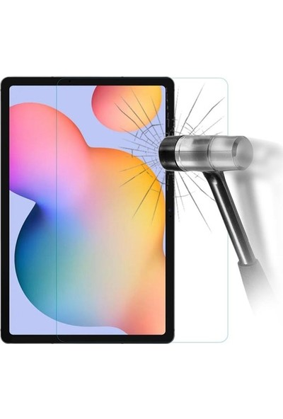 "Essleena Samsung Galaxy Tab S6 Lite SMP610 10.4"" 9h Powerful Kırılmaz Cam Nano Ekran Koruyucu"