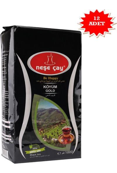 Neşe Çay Köyüm Gold 1 kg'lık - 12 Adet