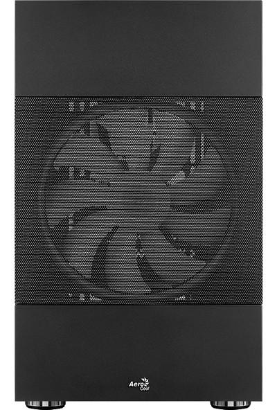 Aerocool Atomic 600W 80+ Bronze, ARGB Adreslenebilir RGB Fanlı, Dik Ekran Kartı Takılabilen, Tempered Glass Yan Panelli, USB 3.0 Bilgisayar Kasası (AE-ATMC-600BR)