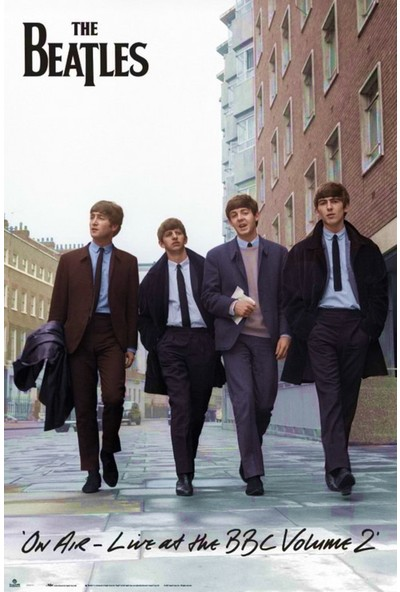 The Beatles On Air Maxi Poster