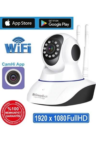 Greentech GT-IP46 2mp Full HD WiFi IP Kamera