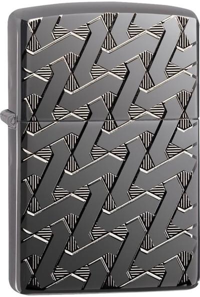 Zippo Çakmak Geometric Weave Design 24095