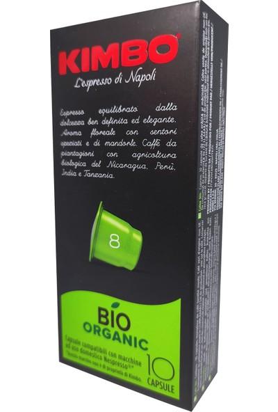 Kımbo Nespresso Bıo Kapsül Kahve 10'lu