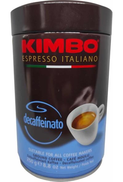 Kimbo Decaffeinato Teneke Kutu Filtre Kahve 250 gr