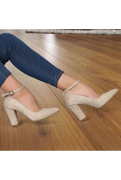 Renas R-100199 Günlük Kadın Topuklu Ayakkabı