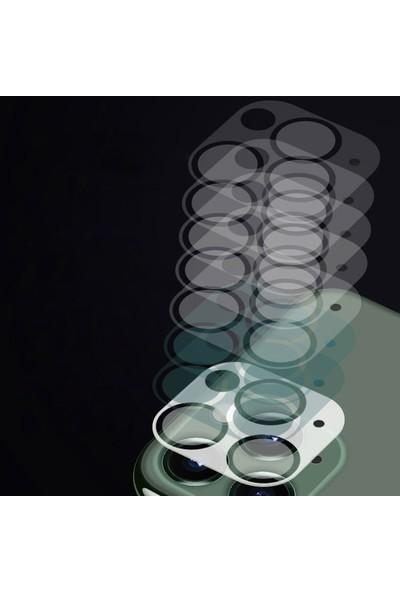 Ally Apple iPhone 12 6.1 Full Tempered Kamera Koruyucu Cam AL-33138 Şeffaf