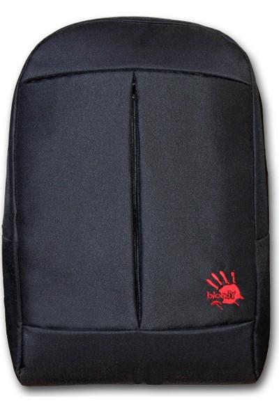 """Bloody HP01 15.6"""" Gaming Notebook Su Geçirmez Çift Gözlü Sırt Çantası Siyah"""