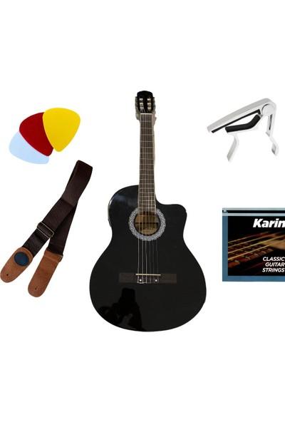 Sanchez Elektro Klasik Gitar Takım