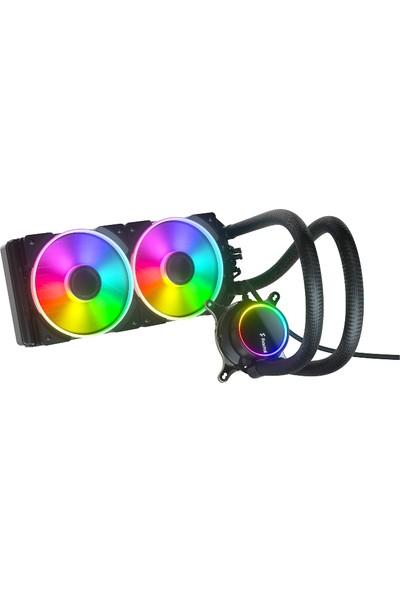 Fractal Design Celsius+ S24 Prisma Argb 240 mm Işlemci Sıvı Soğutucu