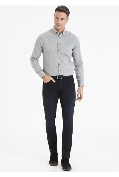 Pierre Cardin Erkek Siyah Slim Fit Gömlek 50233469-Vr046