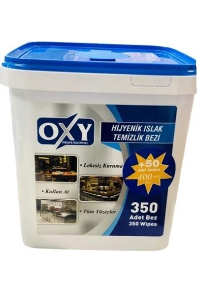 Oxy Professional Hijyenik Islak Temizlik Bezi 350 + 50'li