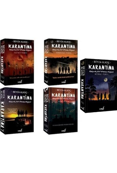 Karantina Serisi 5 Kitap Set Ciltsiz Beyza Alkoç
