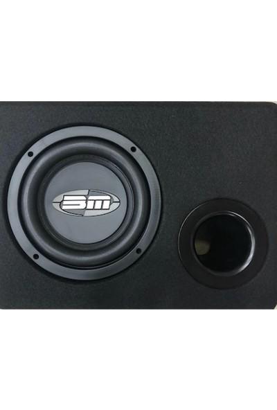 Bm Audio 20 cm Subwoofer Kabinli Bas 400WAT 200RSM