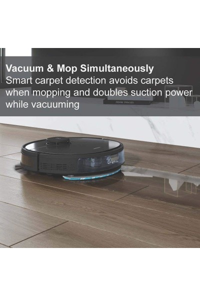 Ecovacs Deebot Ozmo T5 2in1 Robot Vakum ve Paspas