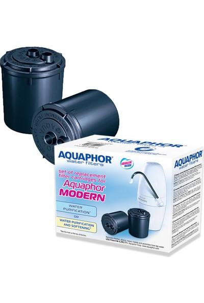 Aquaphor 2 Adet Aquafor Tezgah Üstü Su Arıtma Cihazı Için Yedek Kartuş