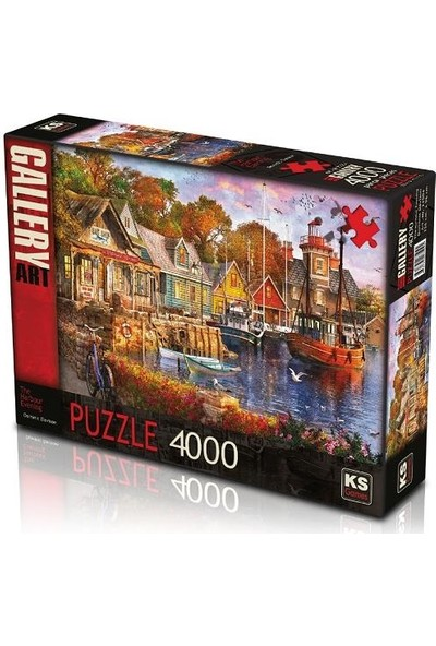 Ks Puzzle 23504 The Harbour Evening 4000 Parça