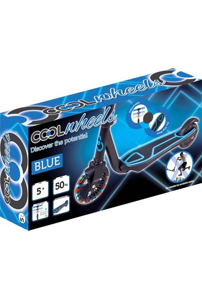 Cool Wheels Işıklı Mavi Scooter