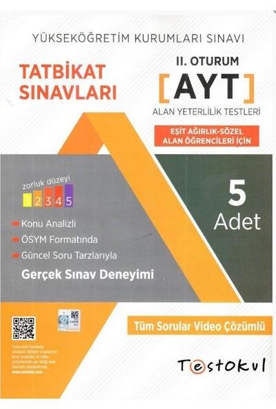 Test Okul YKS-AYT Eşit Ağırlık Paket Deneme Sözel 5'li