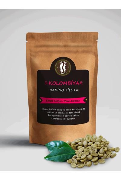 Resso Coffee Avantaj Kolombiya/supremo %100 Premium Yeşil / Çiğ Kahve Çekirdeği 4 Paket x 250 gr. ( 1000 gr )