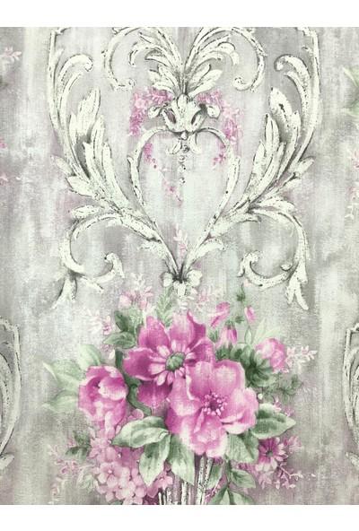 Wall 212 Damask Çiçek Desenli Duvar Kağıdı
