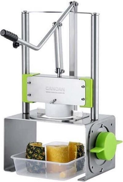 Cancan 2 Bıçaklı Ananas Soyma Makinesi