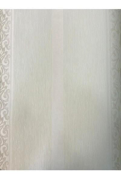 Wall 212 Osmanlı Motifli Dikey Çizgili Duvar Kağıdı