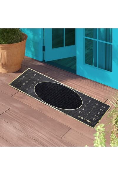 My Floor Desenli Kauçuk Kapı Önü Paspası