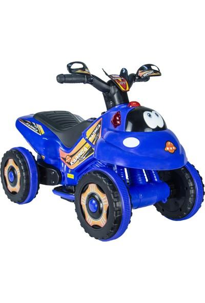 UJ Toys Akülü Atv 6 V Karınca 2020 Müzikli Işıklı Mavi