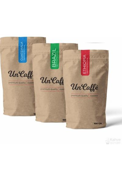 Un Caffe Yöresel Filtre Kahve Tadım Seti 2