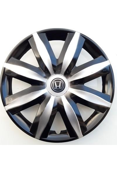 14'' İnç Honda Jant Kapağı 4 Adet Çelik Jant Görünümlü Renkli Kırılmaz Esnek