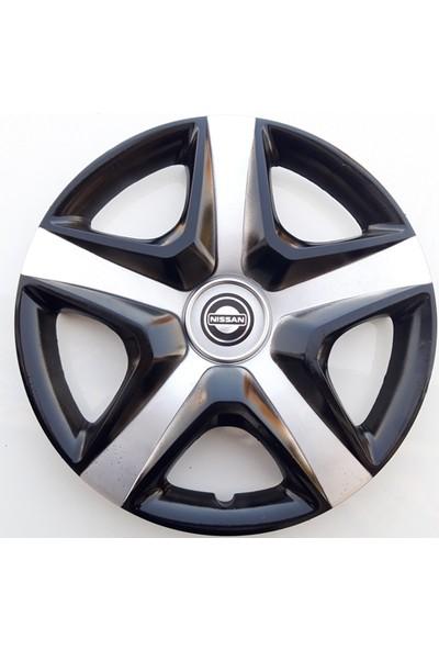 14'' İnç Nissan Jant Kapağı 4 Adet Çelik Jant Görünümlü Renkli Kırılmaz Esnek