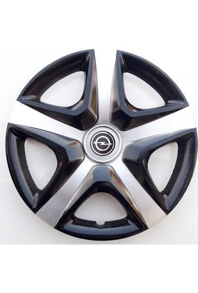 14'' İnç Opel Jant Kapağı 4 Adet Çelik Jant Görünümlü Renkli Kırılmaz Esnek