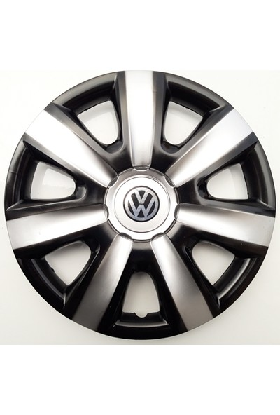 14'' İnç Volkswagen Jant Kapağı 4 Adet Çelik Jant Görünümlü Renkli Kırılmaz Esnek
