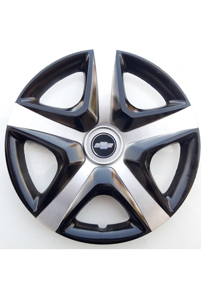 15'' İnç Chevrolet Jant Kapağı 4 Adet Çelik Jant Görünümlü Renkli Kırılmaz Esnek