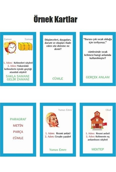 DEVO (Dergi ve Oyun) 6. Sınıf Dilbu Türkçe Dersi Oyunu Büyük Kutu