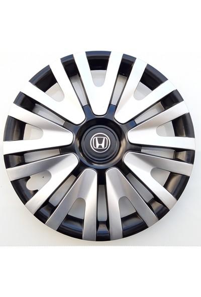 15'' İnç Honda Jant Kapağı 4 Adet Çelik Jant Görünümlü Renkli Kırılmaz Esnek