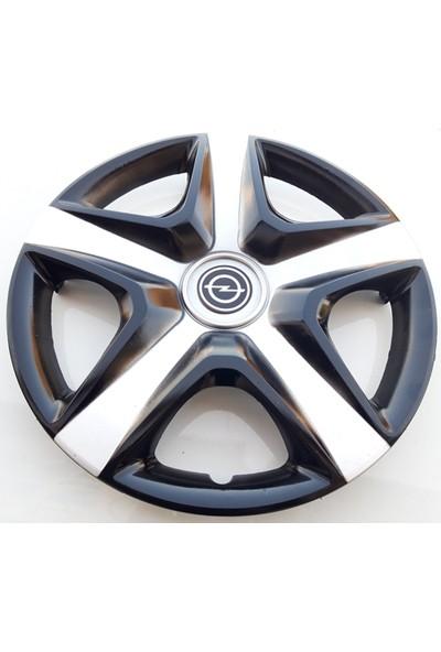 15'' İnç Opel Jant Kapağı 4 Adet Çelik Jant Görünümlü Renkli Kırılmaz Esnek