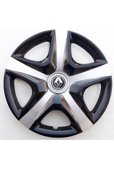 15'' İnç Renault Jant Kapağı 4 Adet Çelik Jant Görünümlü Renkli Kırılmaz Esnek