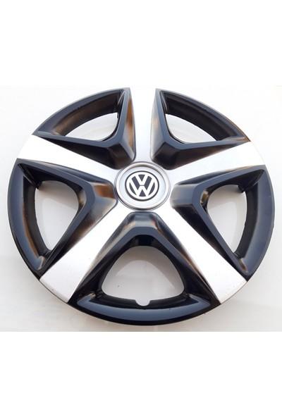 15'' İnç Volkswagen Jant Kapağı 4 Adet Çelik Jant Görünümlü Renkli Kırılmaz Esnek