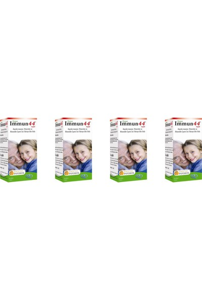 Immun 44 Hyper Multivitamin 250 ml x 4