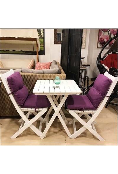 Bahçeci Acropol Sandalye (Beyaz)