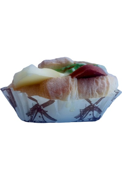 Soico Dekoratif Kruvasan Mutfak Dekoru Fake Food
