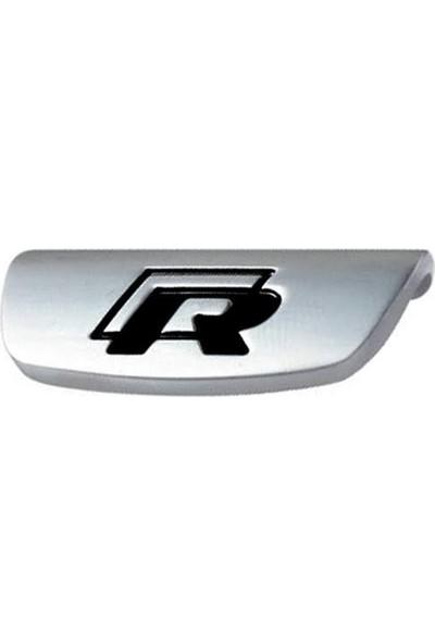 R Direksiyon Logosu-Siyah / DIKA03