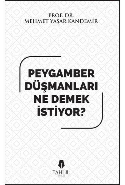 Peygamber Düşmanları Ne Demek İstiyor? - Mehmet Yaşar Kandemir